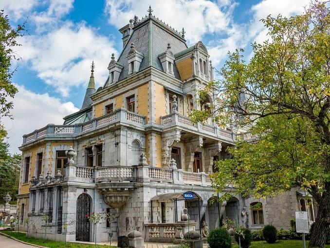 Массандровский дворец Александра III в Крыму