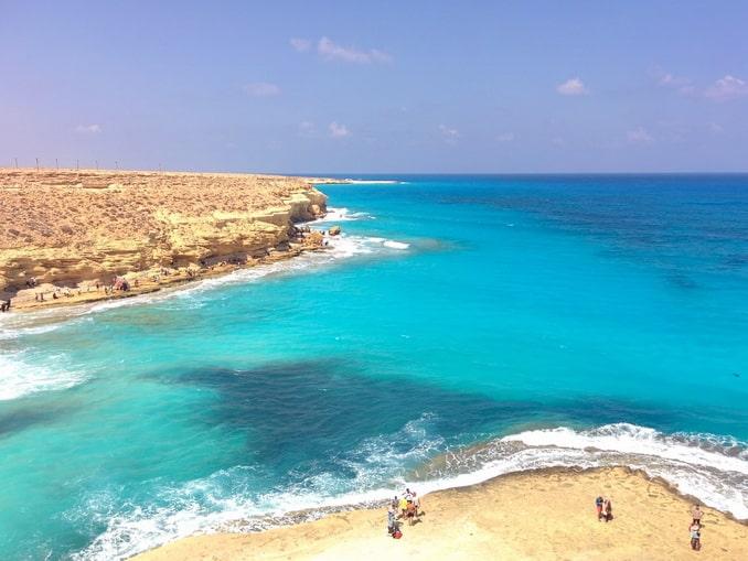Море в Мерса-Матрухе в Египте