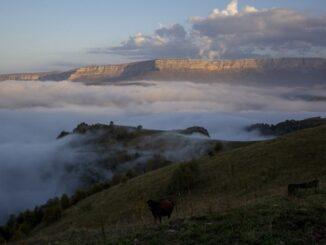 Урочище Джилы-Су находится в 90 км от Кисловодска