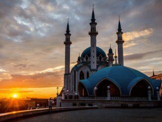 Закат - Казань в июне