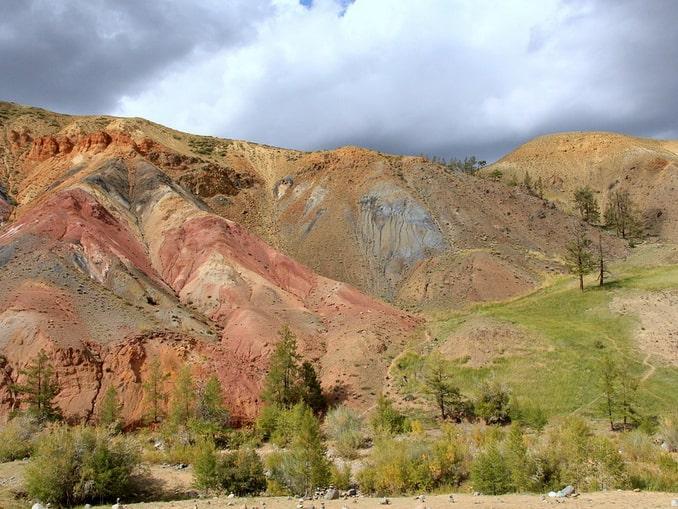 Марсовые горы на Алтае, начало сентября