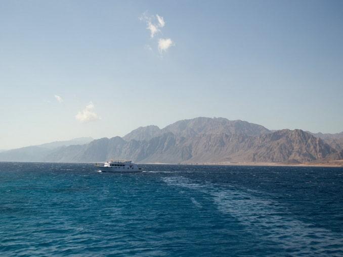 Море в Египте в сентябре прогрето до +28