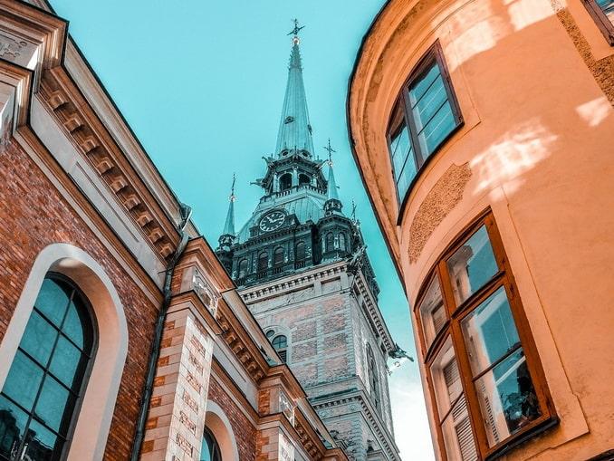 Стокгольм - сюда ездили из СПб на выходные