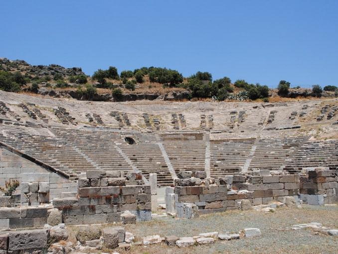 Амфитеатр - одна из главных достопримечательностей Бодрума