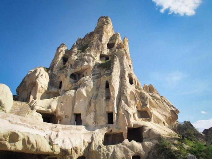 Пещеры в Каппадокии, октябрь