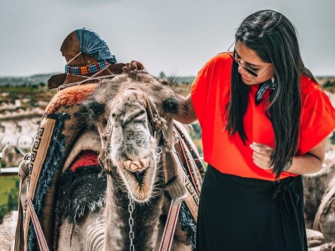 Прогулка на верблюде - популярное развлечение в Каппадокии
