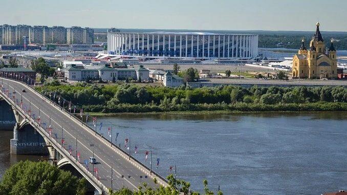Дорога в Нижний Новгород из Москвы на машине