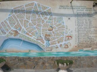 Старый город Евпатории - достопримечательности на карте