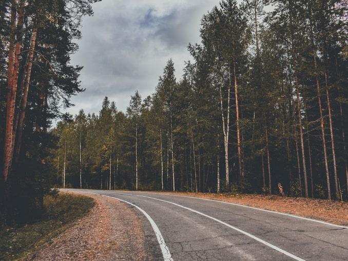 Дорога в Карелию из Москвы