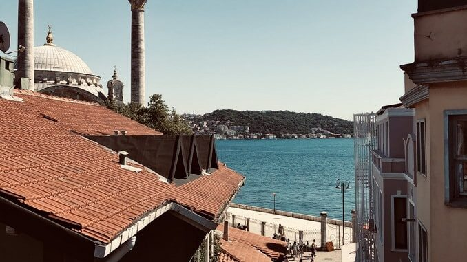 Стамбул в августе - погода хороша!