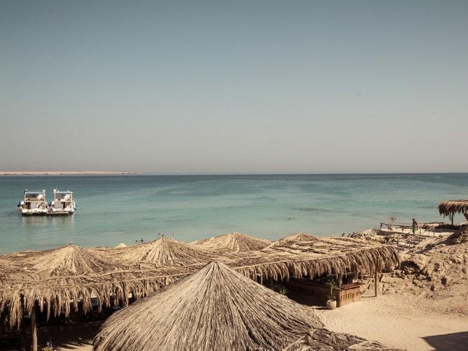 Море в Египте в ноябре прекрасно подходит для купания