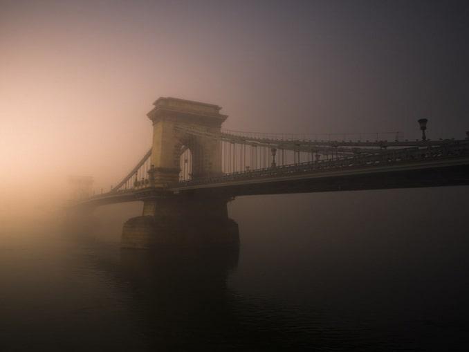 Будапешт в декабре часто окутан туманом
