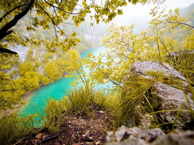 Плитвицкие озера- одна из главных достопримечательностей Хорватии