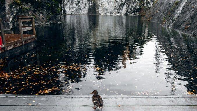 Погода в Карелии в ноябре отличается пасмурным характером
