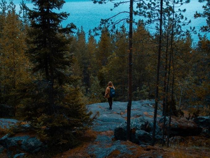 В конце октября в Карелии очень красиво